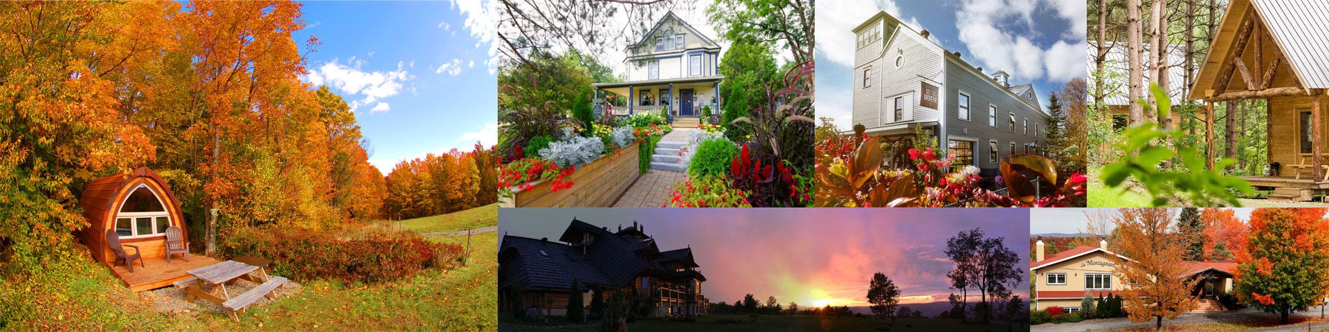 Tourisme Sutton : Où dormir en automne à Sutton