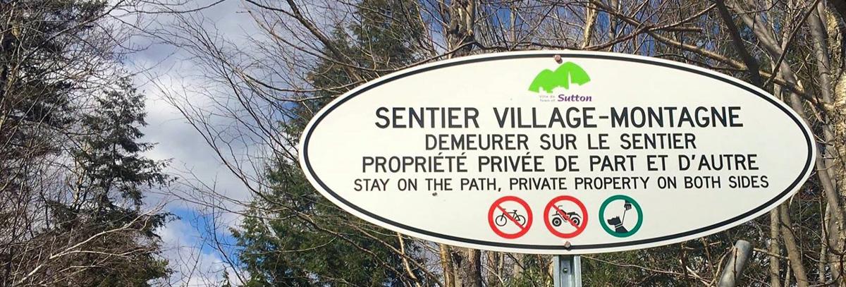 Sentier Village-Montagne