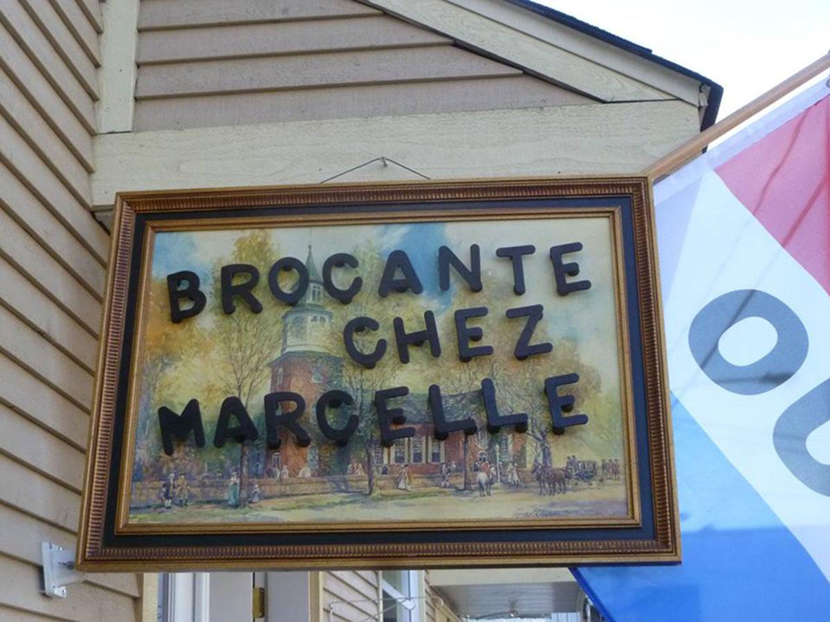 Brocante chez Marcelle