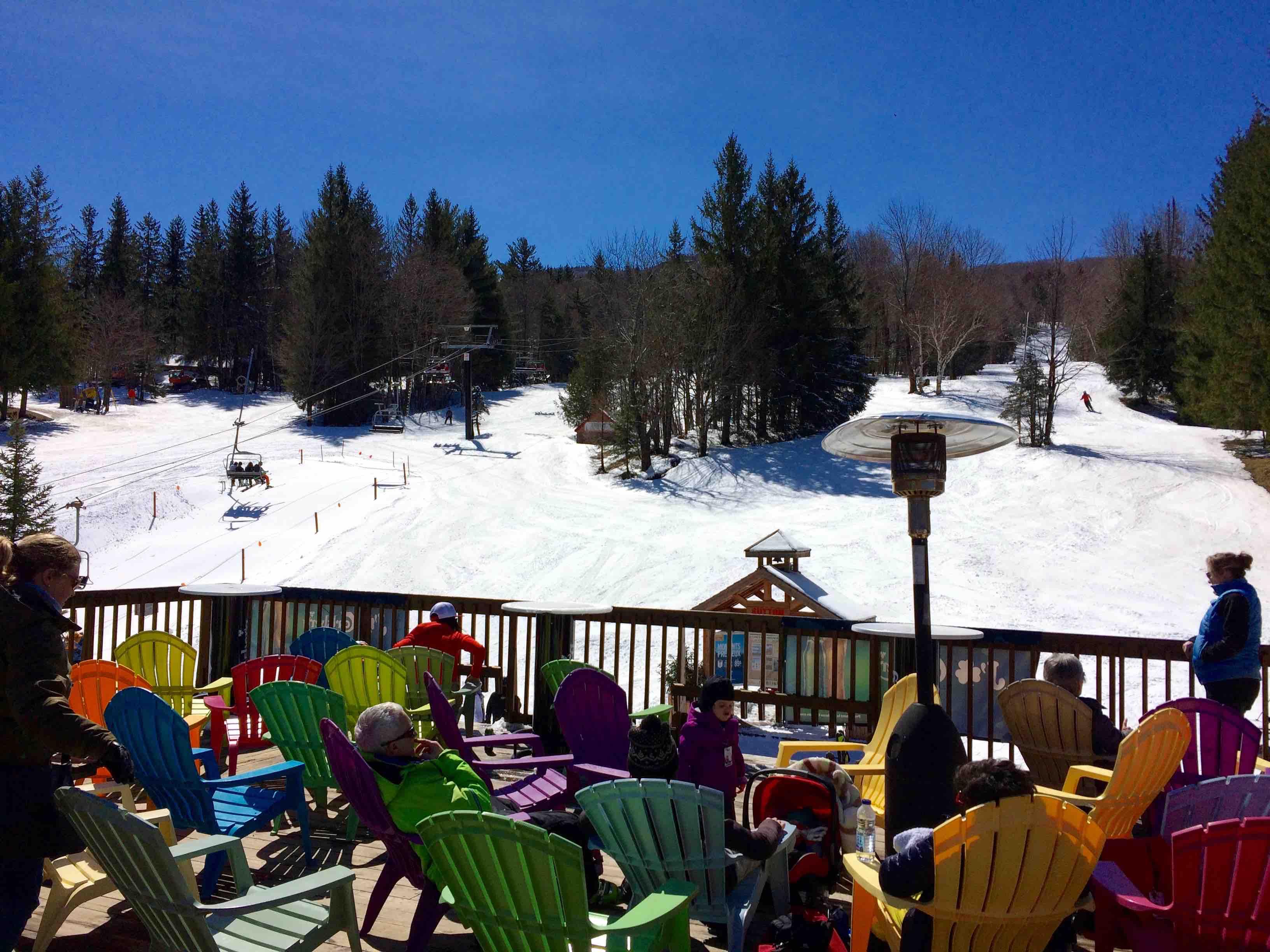 Ski Mont SUTTON relache