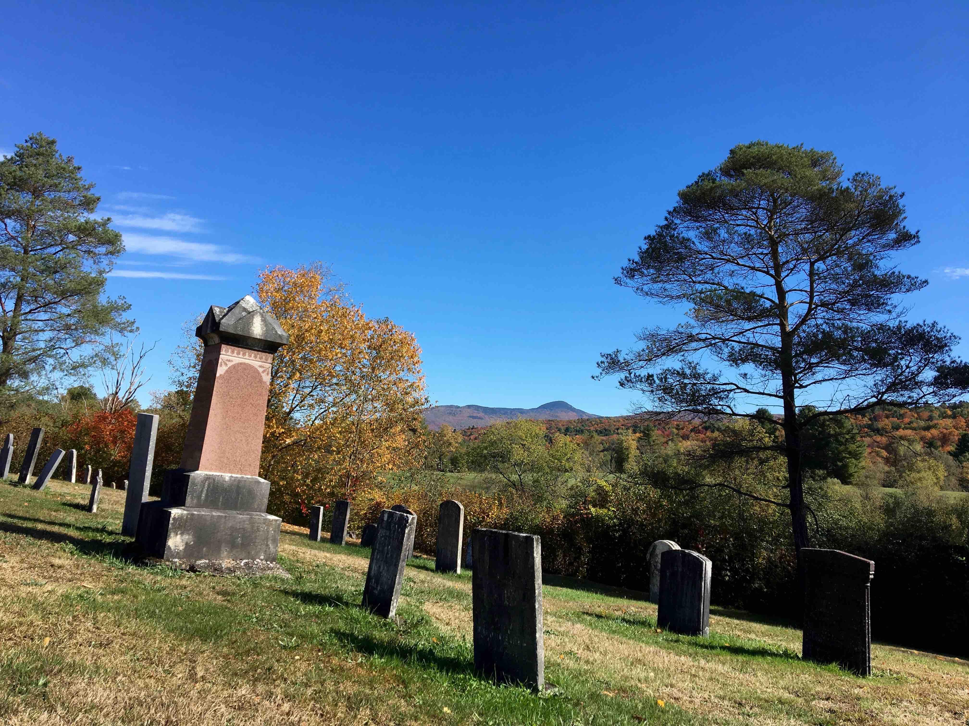 """Le """"Old Abercorn Cemetary"""" est le plus ancien cimetière de la région."""
