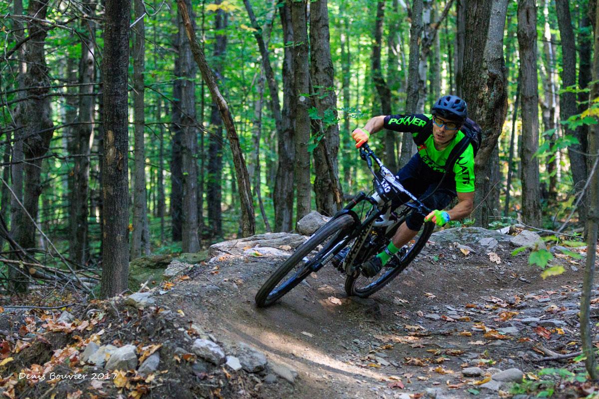 Vélo de montagne à Sutton