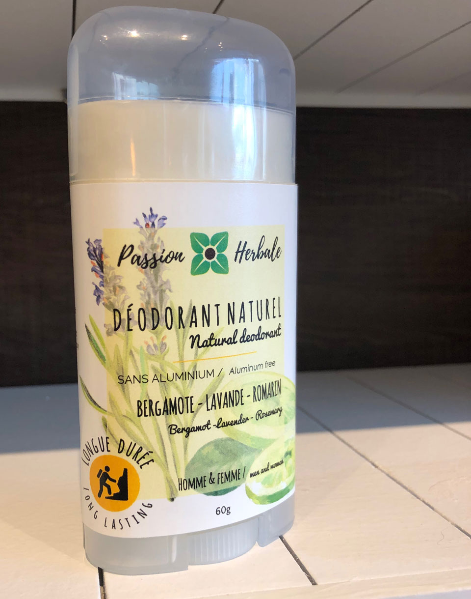 Déodorant naturel Passion Herbale