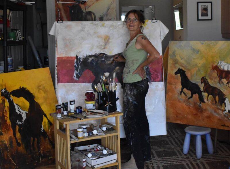 Atelier d'artiste Cristiane Pravez